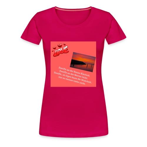 Motiv 12 Design Bild verändern siehe unten - Frauen Premium T-Shirt