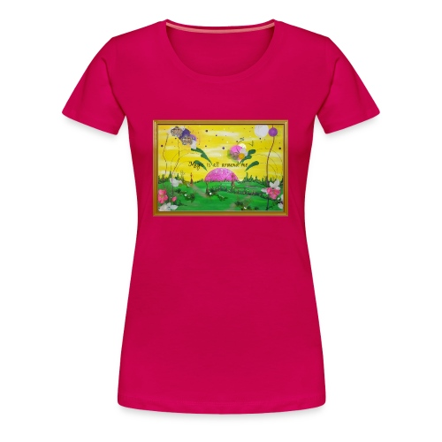 Magic ist um mich herum - Frauen Premium T-Shirt