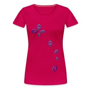Lhynns Gaming - Logo en pièces - T-shirt Premium Femme