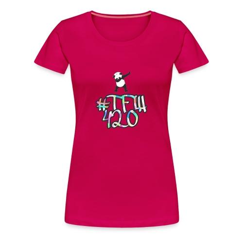 #TFW 420 - Maglietta Premium da donna