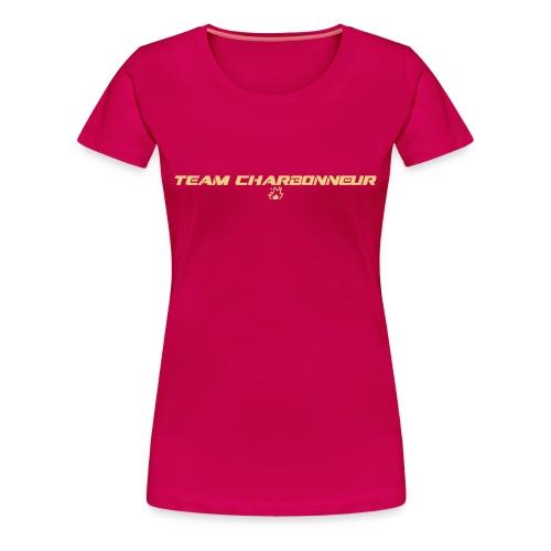 Team Charbonneur coloré - T-shirt Premium Femme