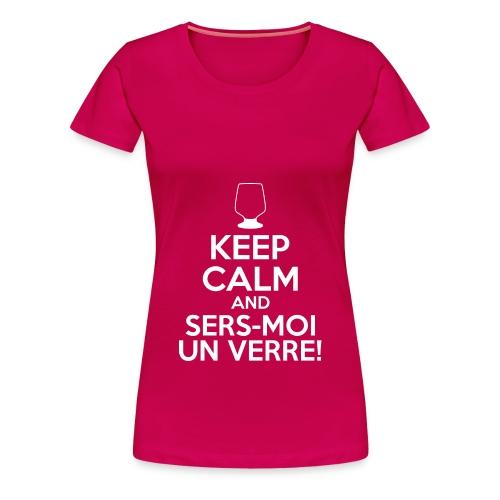 Sers-moi un verre - T-shirt Premium Femme