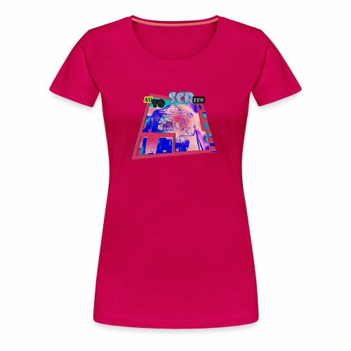 AUTO SCREEN (CAMERA ) - T-shirt Premium Femme