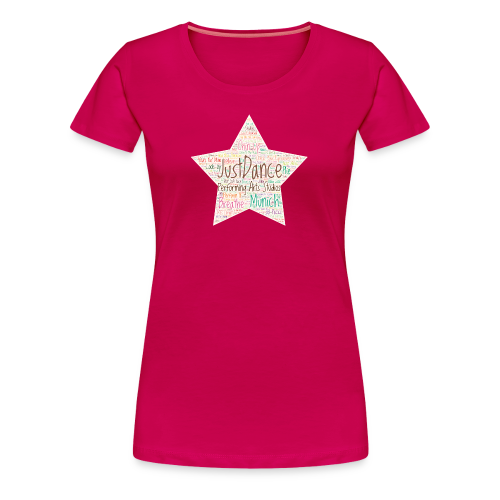PAS Star Colors bg beige - Frauen Premium T-Shirt