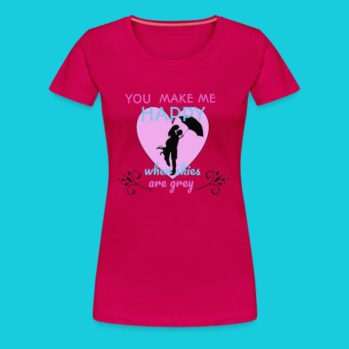 Zwapp Designs Happy - Frauen Premium T-Shirt