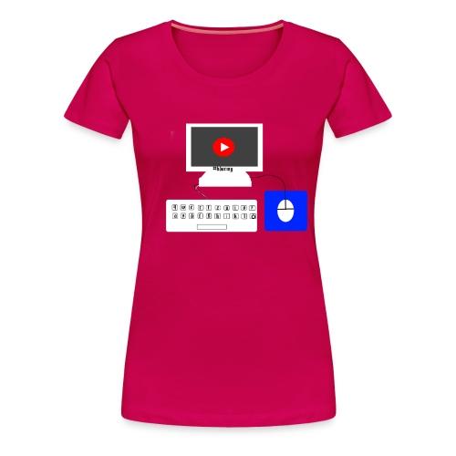 pc mit maus und tastertur by Fabio__HD - Frauen Premium T-Shirt