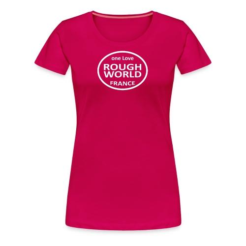RWB ONE LOVE blanc - T-shirt Premium Femme
