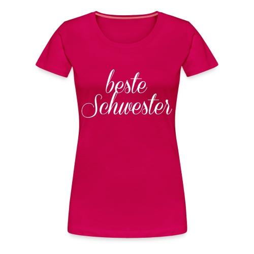 Schwester - Frauen Premium T-Shirt
