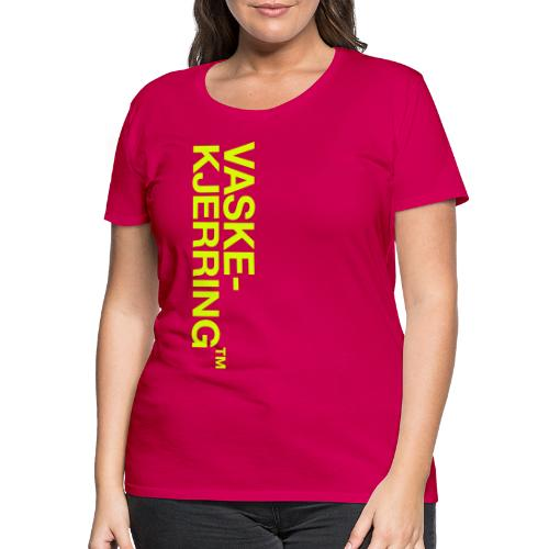 Vaskekjerring™ (fra Det norske plagg) - Premium T-skjorte for kvinner