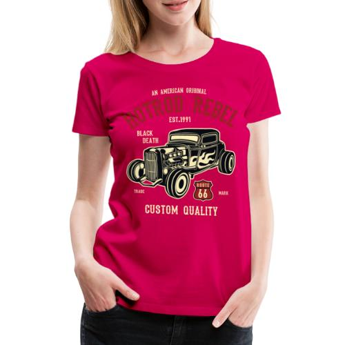Hot Rod Rebel - Women's Premium T-Shirt