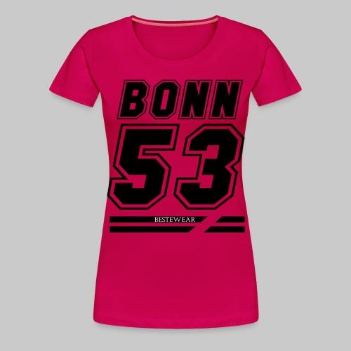 #Bestewear - BN53 (Black Edition) - Frauen Premium T-Shirt