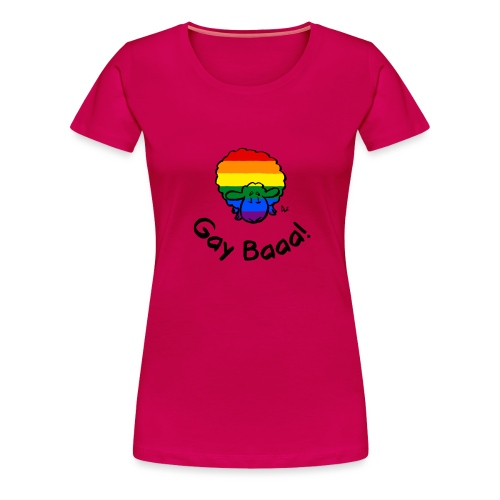 Homosexuell Baaa! Regenbogen-Stolz-Schafe - Frauen Premium T-Shirt