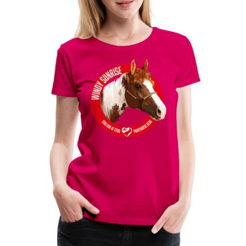 WINDY SUNRISE - Maglietta Premium da donna