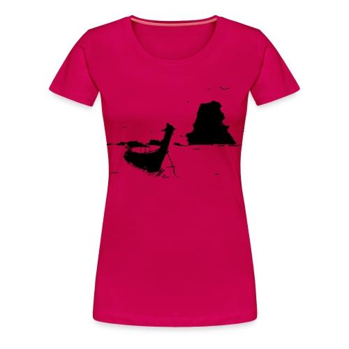 Boot Süd-Ost-Asien - Frauen Premium T-Shirt