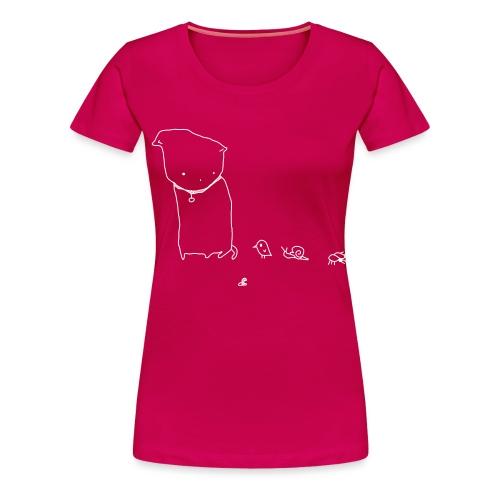 Freunde - Frauen Premium T-Shirt