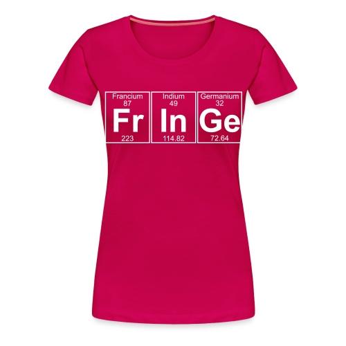 Fr-In-Ge (fringe) - Full - Women's Premium T-Shirt