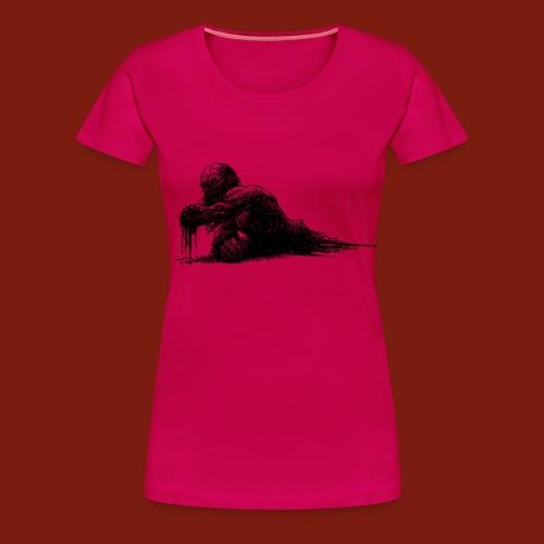 Splatter Zombie - Women's Premium T-Shirt