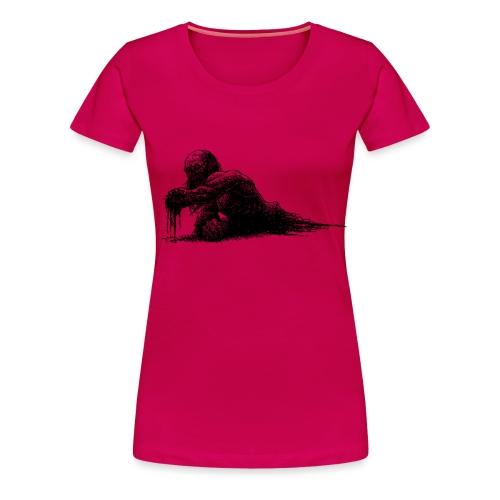 Splatter Zombie - Maglietta Premium da donna