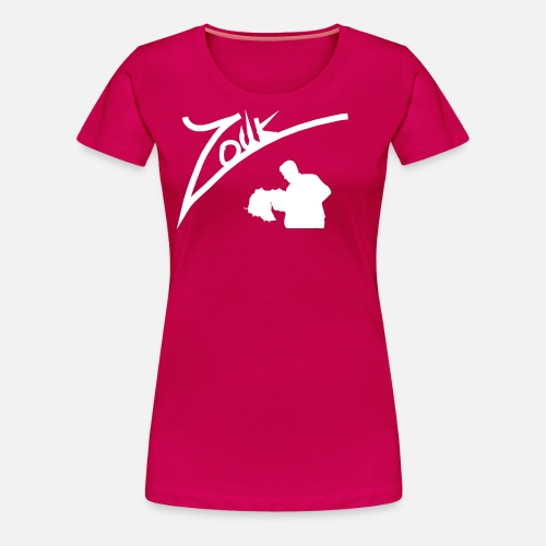 Zouk Handwritten - Frauen Premium T-Shirt