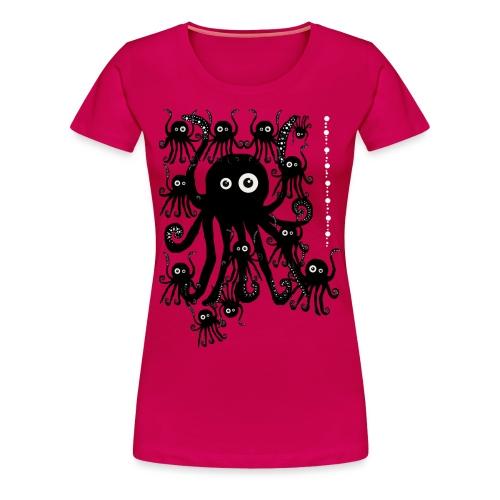 Sweet Octopi by BlackenedMoonArts - Dame premium T-shirt