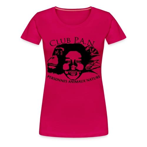 Club P A N Logo - Women's Premium T-Shirt