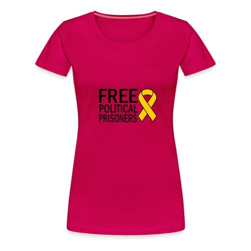 FREE POLITICAL PRISONERS - Camiseta premium mujer