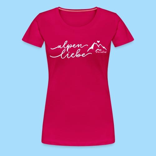 Alpenliebe - Frauen Premium T-Shirt