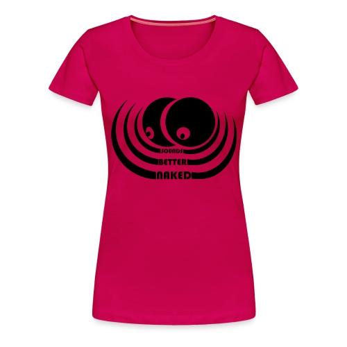 sbn logowvert - Frauen Premium T-Shirt