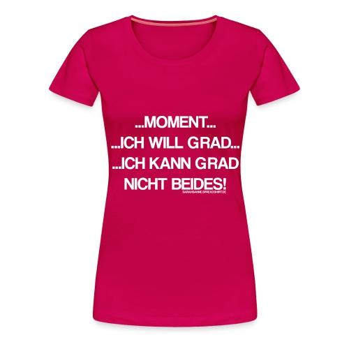Multitasking - Frauen Premium T-Shirt