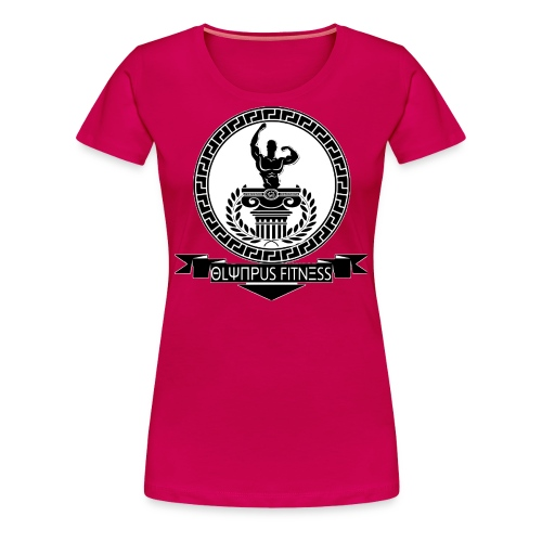 Olympus Fitness Official - Maglietta Premium da donna