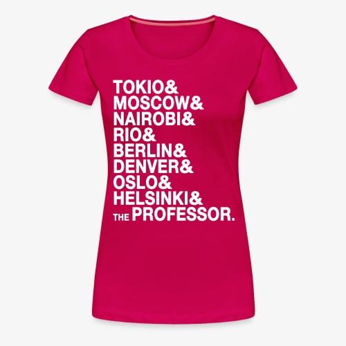 Casa di Carta - Donna Canottiera - Maglietta Premium da donna
