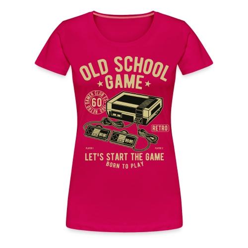 T-Shirt Jeux videos Vintage - T-shirt Premium Femme