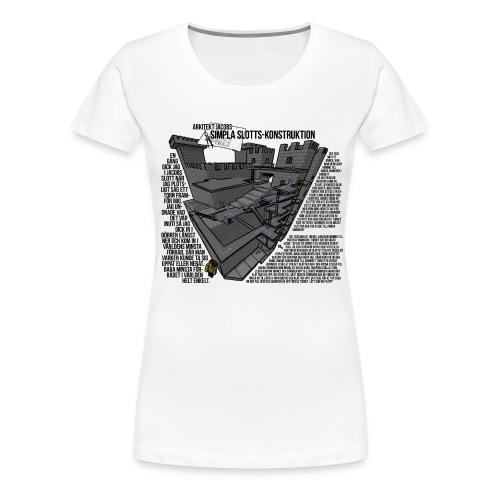 Jacobs Slott - Premium-T-shirt dam