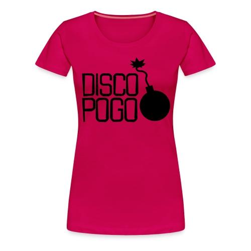 Disco Pogo Logo (Bombe) - Frauen Premium T-Shirt