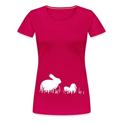 rabiteggs - Vrouwen Premium T-shirt