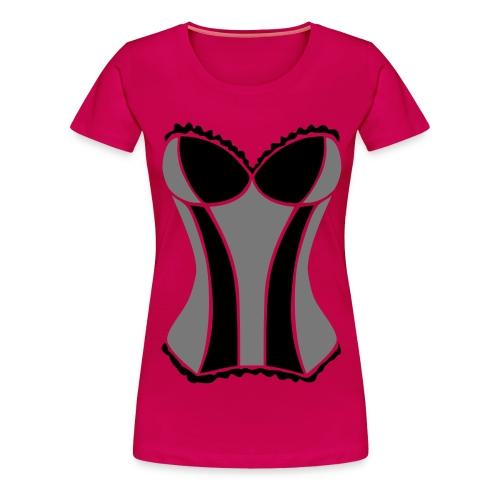 corsage2_2 - Frauen Premium T-Shirt