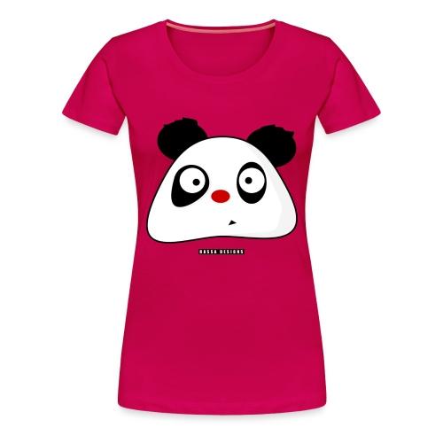 PandaPondo Bib by Hassa Designs - Premium T-skjorte for kvinner