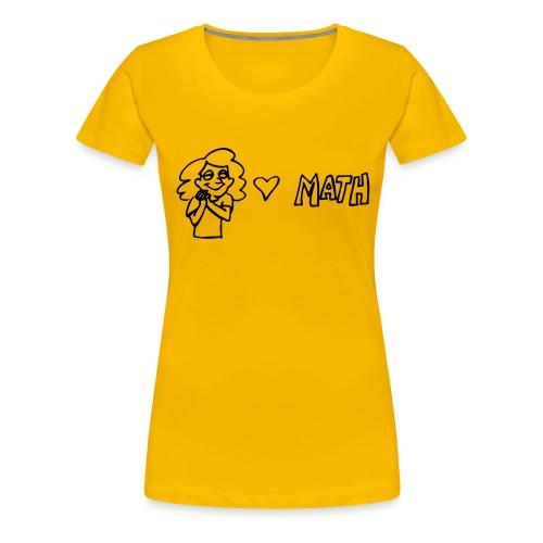 maths1 - Women's Premium T-Shirt