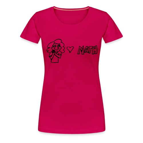 maths1 - Women's Premium T-Shirt