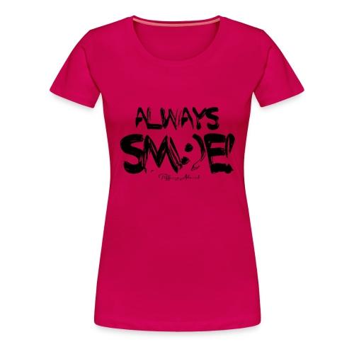 Always Sm e Fingerpaint - Women's Premium T-Shirt