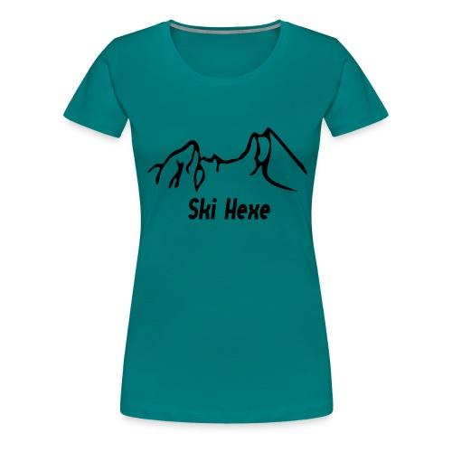 watzmann_neu_skihexe - Frauen Premium T-Shirt