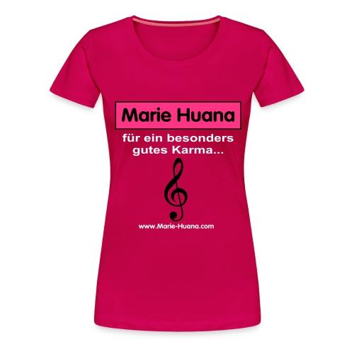 marie_huana_musik_08 - Frauen Premium T-Shirt