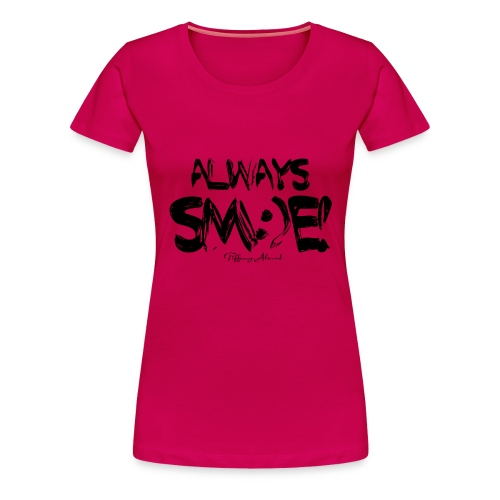 Always Sm e Fingerpaint - Women's Premium T-Shirt