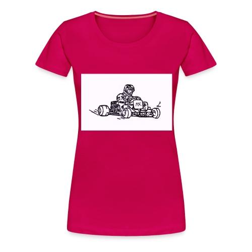 Kart - Frauen Premium T-Shirt