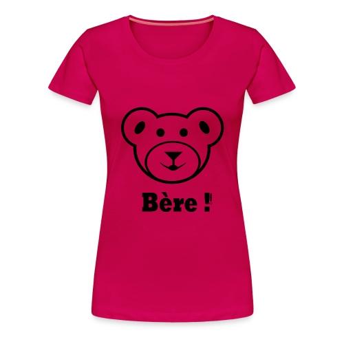 bère png - Vrouwen Premium T-shirt