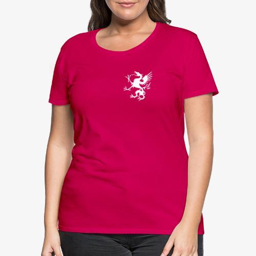 griffon blanc - T-shirt Premium Femme