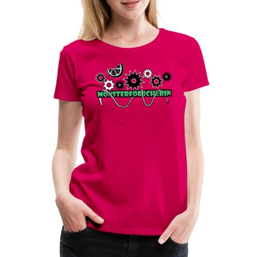 Monsterforscherin - Frauen Premium T-Shirt