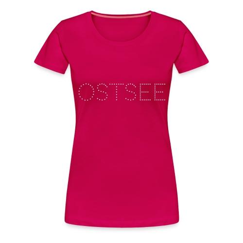 Ostsee Punkte - Frauen Premium T-Shirt