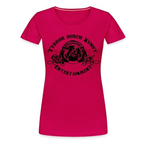 tdklogoschwarz 3 - Frauen Premium T-Shirt