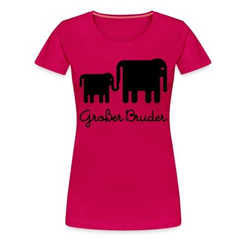 Elefant GB - Frauen Premium T-Shirt